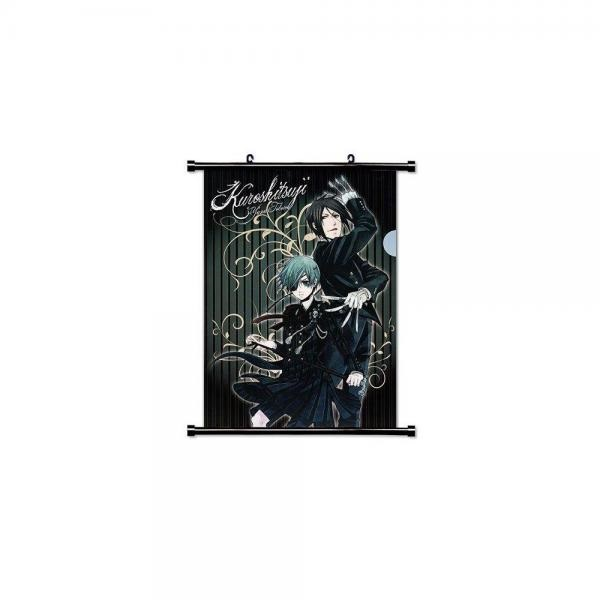 16 x 22 Inches 1 X Black Butler Anime Fabric Wall Scroll Poster
