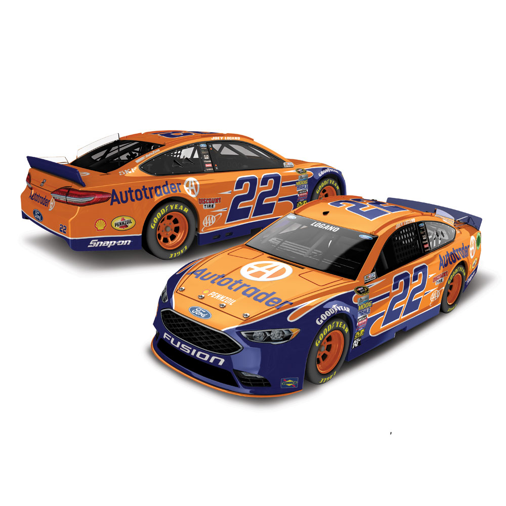 Joey Logano Action Racing 2016 #22 Autotrader 1:24 Nascar Sprint Cup Series Platinum... by Lionel Racing