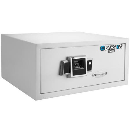 Barska BX300 Biometric Fingerprint Security Safe-White