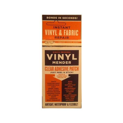 Lhb Industries BRT-1 Vinyl & Fabric Tear Mender, Clear Ad...