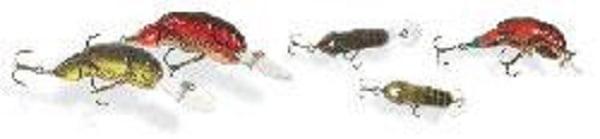 Rebel Lures Wee-Crawfish Fishing Lure (2-Inch, Cajun Crawdad) Multi-Colored by REBEL LURES
