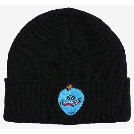 Rick   Morty Mr. Meeseeks Beanie Hat - Walmart.com 467d61deff3