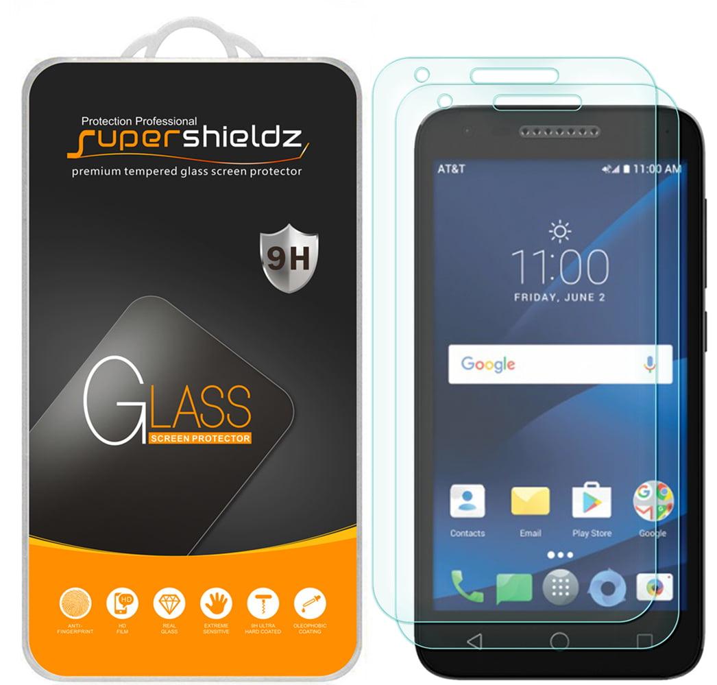 [2-Pack] Supershieldz for Alcatel Raven LTE Tempered Glass Screen Protector, Anti-Scratch, Anti-Fingerprint, Bubble Free