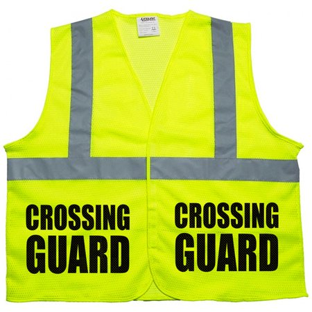Crossing Guard Mesh vest, traffic safety vest, school safety, municipal -