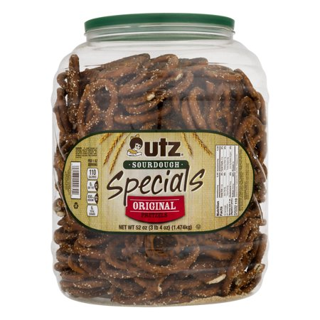 Utz Pretzels, Sourdough Specials 52 oz. Barrel](Christmas Pretzel Rods)