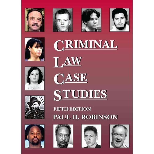 legal case studies criminal law Welcome to our criminal law case study guides all free law failed to properly direct the jury as to the legal matters relevant in this case.