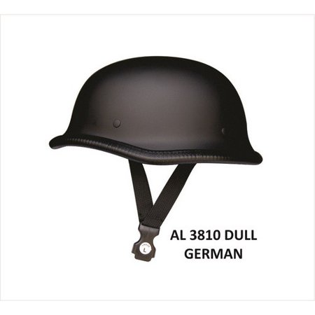 Unisex Motorcycle Biker Nature XL Size German Dull Novelty Helmet With Y Straps Novelty Motorcycle Helmet