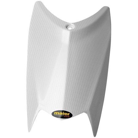 Carbon Fiber Hood Vents - Maier Mfg 19006-31 Hood - White Carbon Fiber