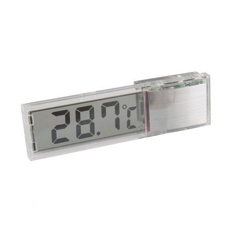 Fish Tank LCD 3D Crystal Digital Electronic Aquarium Thermometer Temperature