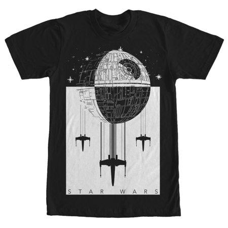 Star Wars Men's Death Star Battle T-Shirt