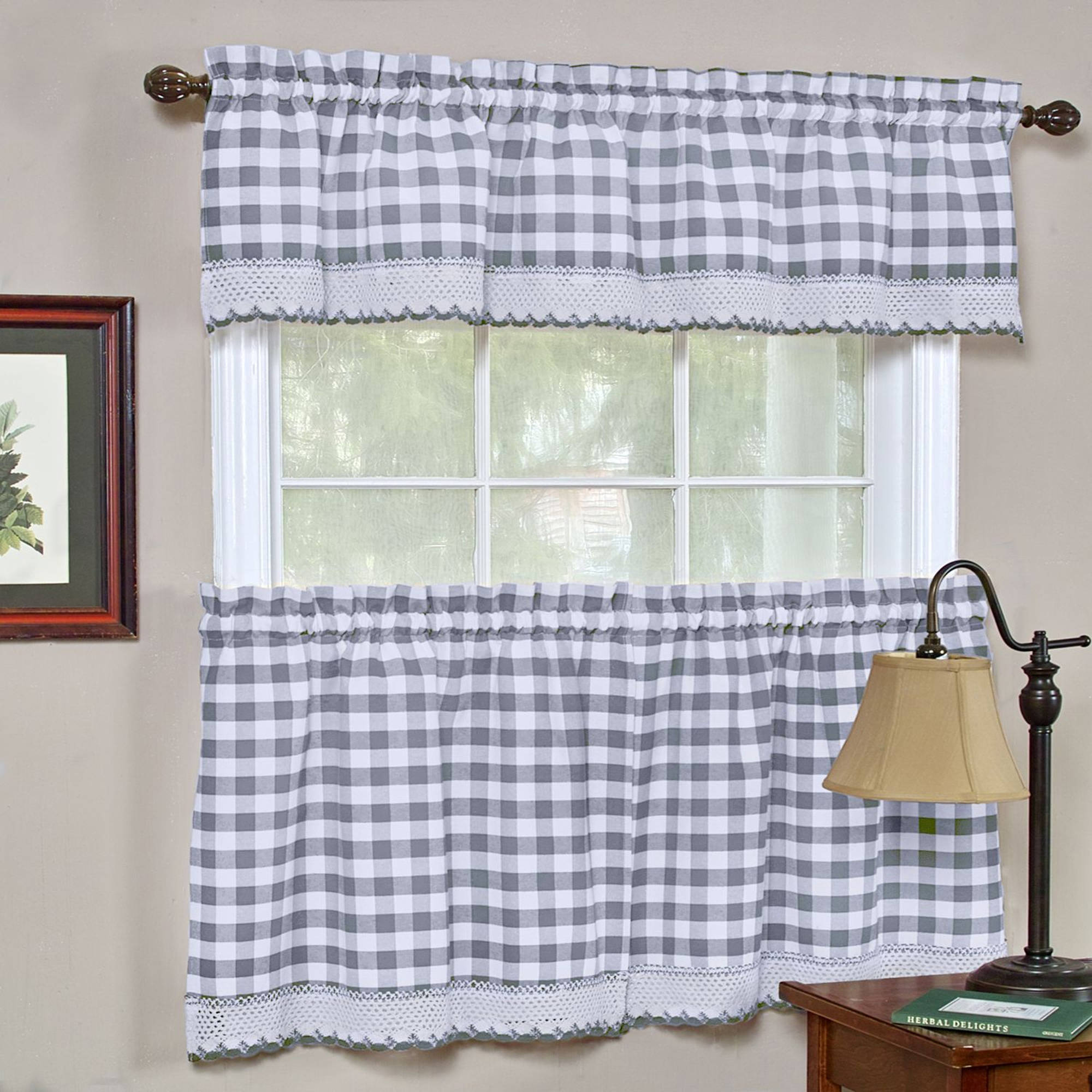 check walmart curtain ip com buffalo window plaid valance