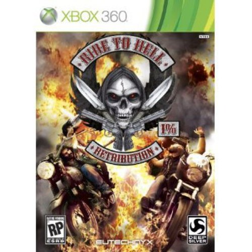SQUARE ENIX D1064 Ride to Hell Retribution  X360