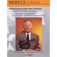 Passacaglia for Two Violins : For Violin and Piano Critical Urtext Edition Heifetz Collection