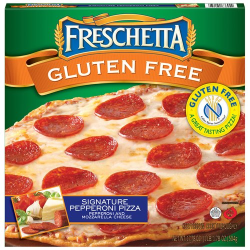 Freschetta Gluten Free Signature Pepperoni Pizza, 17.78 oz