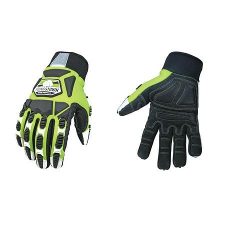 Youngstown Glove 09 9060 10 XL Heavy Duty Work Gloves XL Velcro Cuff W