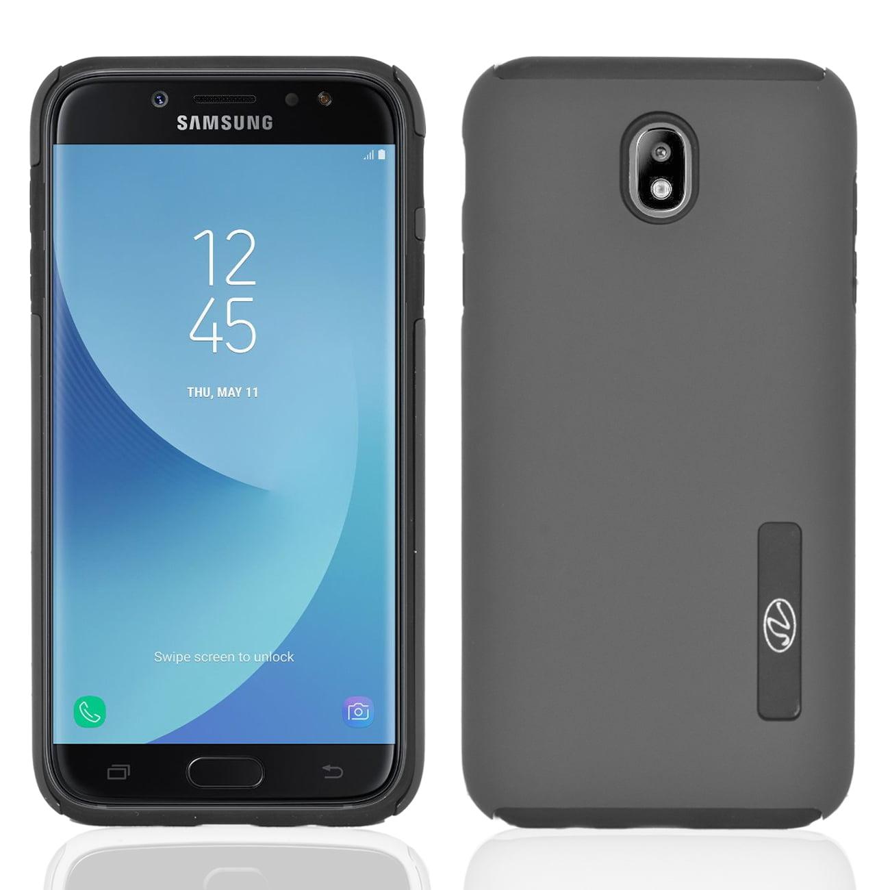 Samsung Galaxy J7 Pro / J730G Slim Rubberized Protective Hybrid Case Cover