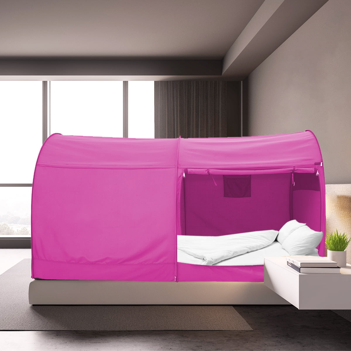 Bed Tent Full Size for Unisex Pink by Alvantor(Mattress ...