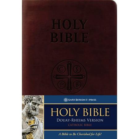 Douay-Rheims Bible (Burgundy Premium UltraSoft) : Standard Print (Douay Rheims Bible)