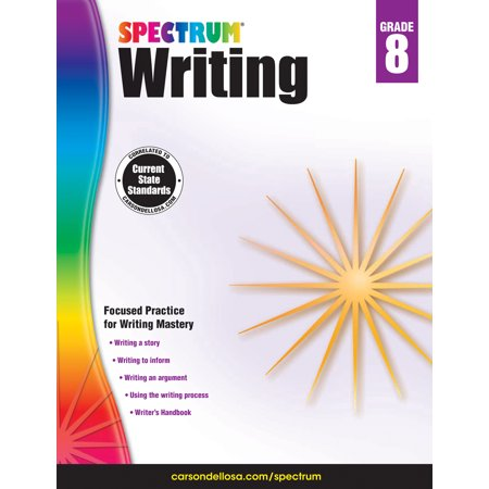 Spectrum Writing, Grade 8](Halloween Writing Activity Grade 2)