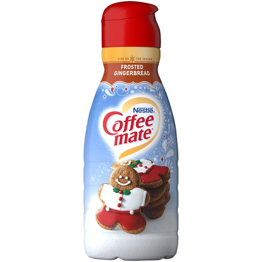 Coffee Mate Frosted Gingerbread Liquid Coffee Creamer 32 Fl Oz Bottle Walmart Com Walmart Com