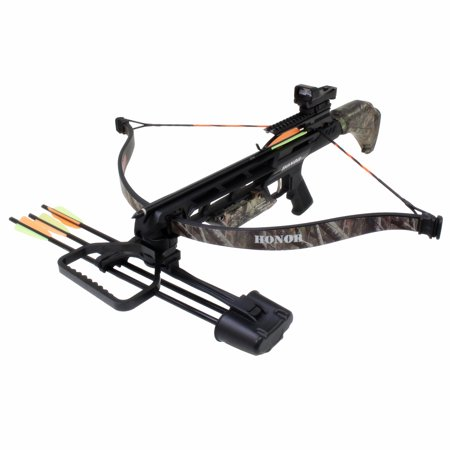 150 Crossbow Package (SAS Honor 175 lbs Recurve Crossbow Package -Camo)
