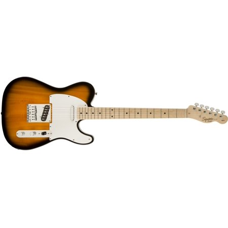 Fender Squier Affinity Telecaster Electric Guitar, Maple Fingerboard - 2-Tone