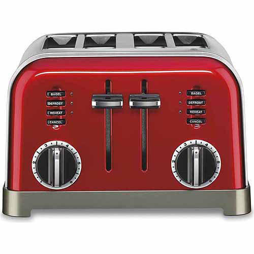Cuisinart Metal Classic 4-Slice Toaster Metallic Red CPT-180MR