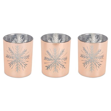 Melrose Snowflake Votive Candle Holder - Set of 6