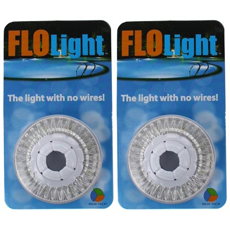 2) LED Swimming Above Inground Pool Flo Lights Wireless ...