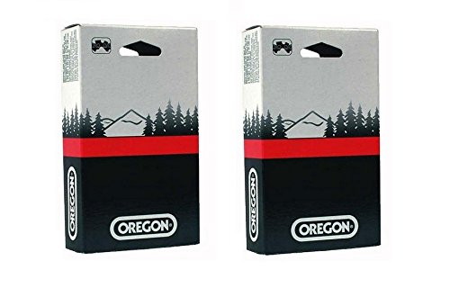 """Click here to buy 2 Pack, Oregon 72LGX066G 18"""" Chainsaw Chain Loop 3 8"""" Pitch x .050""""Gauge, Replaces Stihl 33RSC66,... by Oregon."""