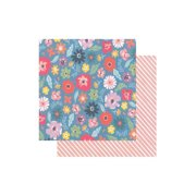 Pink Paislee Whimsical Paper 12x12 Paper 14 (pack of 25)