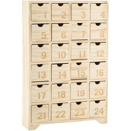 Wood Advent - Chocolate Advent Calendars