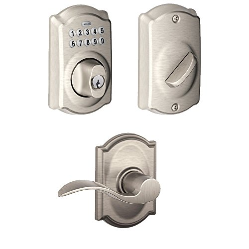 Schlage Be365cam619 Keypad Deadbolt W Accent Passage