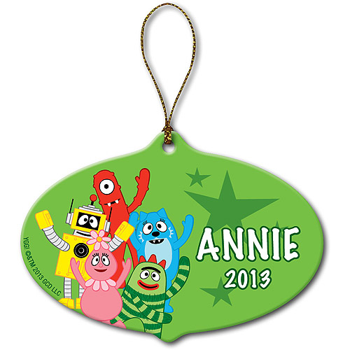 Personalized Yo Gabba Gabba! Gabba Friends Christmas Ornament