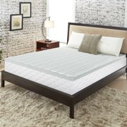 "Dream Serenity Memory Foam 2"" Reversible Graphite Wave Mattress Topper, 1 Each"