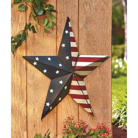 24 americana metal star decor for Al ahram aluminium decoration