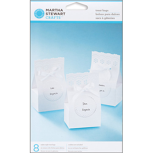 Martha Stewart Crafts Doily Lace Treat Favor Bags