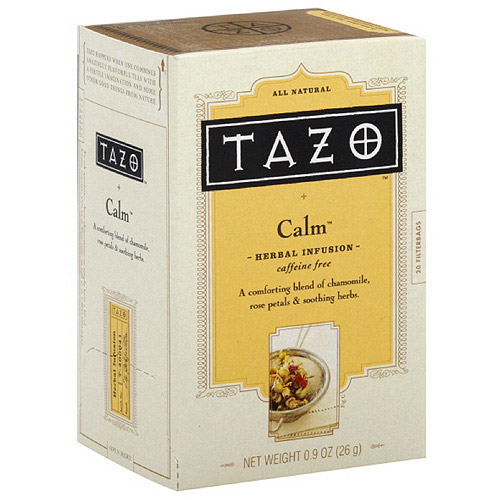Tazo Calm Herbal Infusion Tea, 20ct  (Pack of 6)