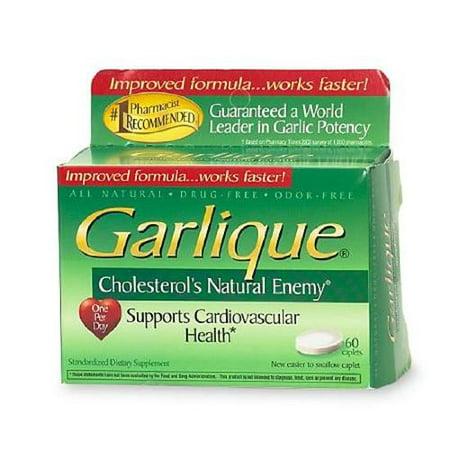 3 Pack - Garlique Caplets 60 Tablets - Garlique Garlic
