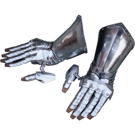 Articulated Steel Gauntlets - Bat Gauntlets