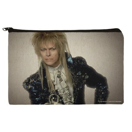 David Bowie As Jareth From The Labyrinth Makeup Cosmetic Bag Organizer