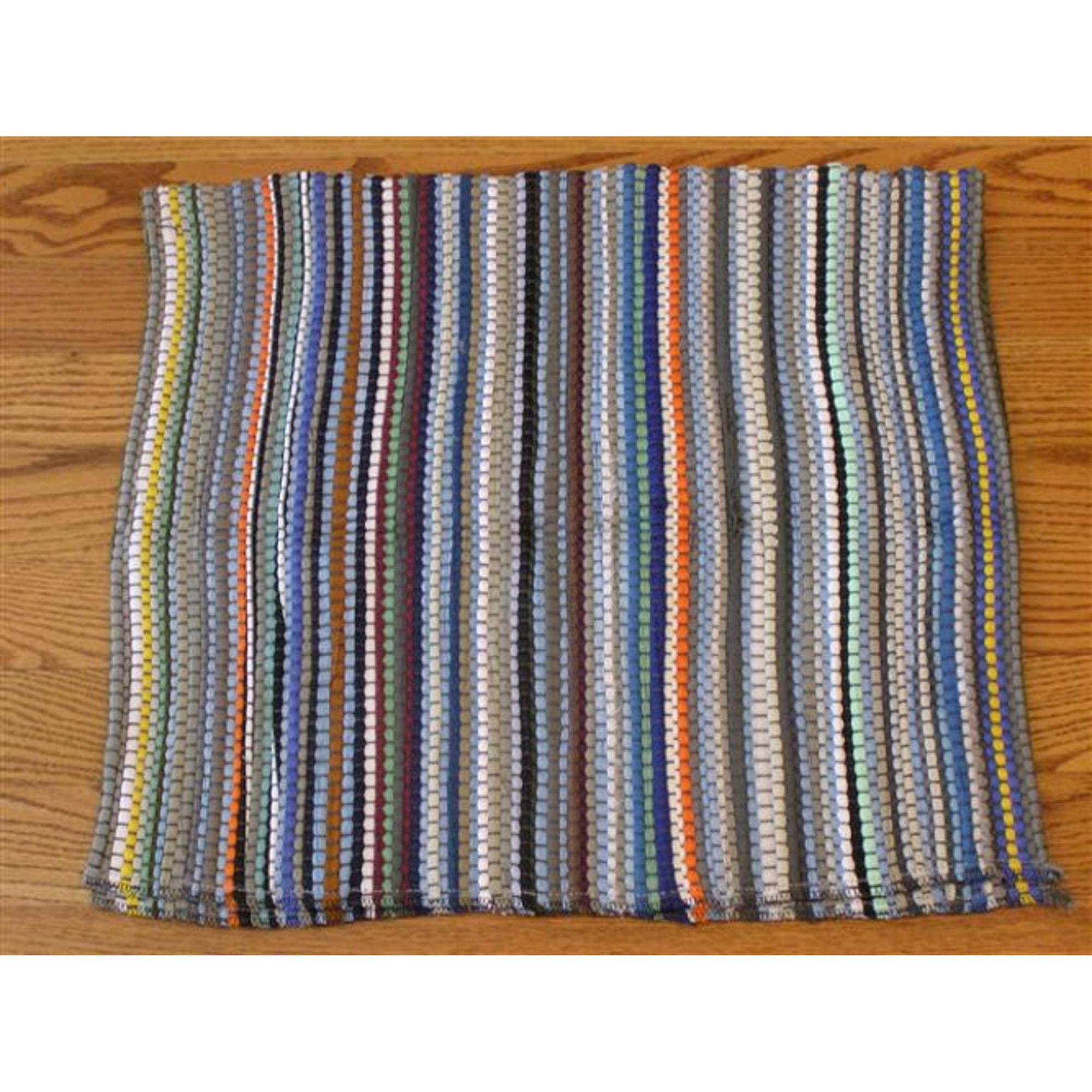 Multi Color Rag Rug