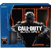 Sony PlayStation 4 (PS4) Console Bundle with Call of Duty Black Ops III - Hard Drive Capacity: 500 G