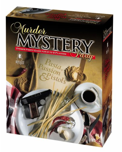 Murder Mystery Party Games Pasta, Passion & Pistols, USA, Brand University Games by