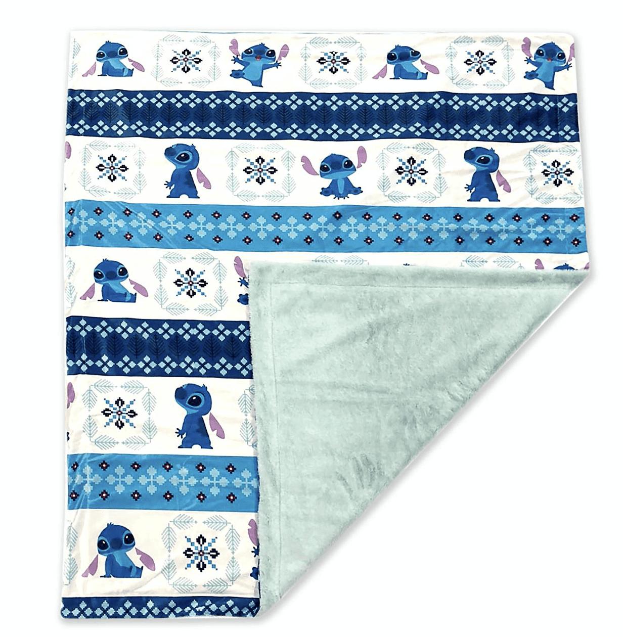 Disney Lilo And Stitch Holiday Fleece Throw Blanket Stitch For Adults New W Tag Walmart Com Walmart Com
