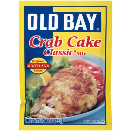 (4 Pack) OLD BAY Classic Crab Cake Mix, 1.24 oz (Old Crab)