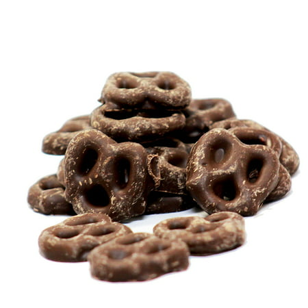 Gourmet Chocolate Covered Pretzels by Its Delish (Milk Chocolate, 2 lbs)](Halloween Chocolate Pretzels)