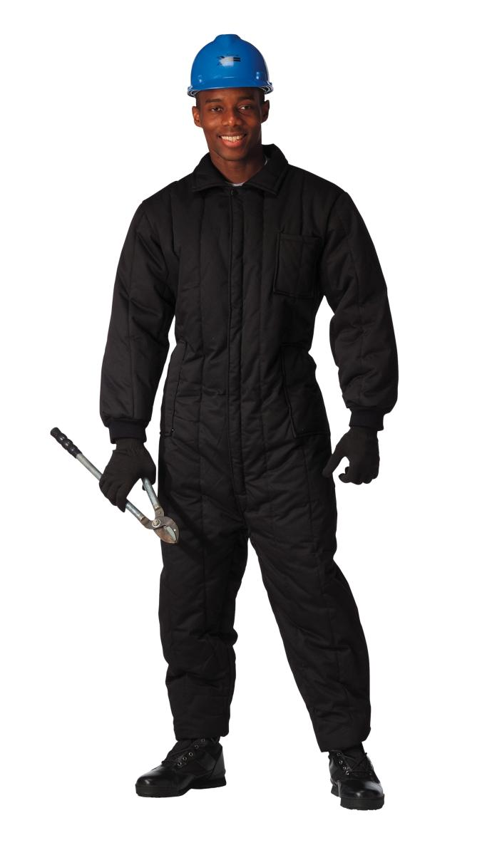 Men's Black Insulated Coveralls by Rothco