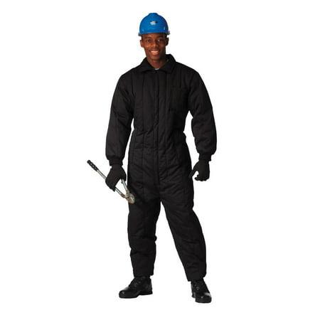 Camo Insulated Coveralls (Men's Black Insulated Coveralls)