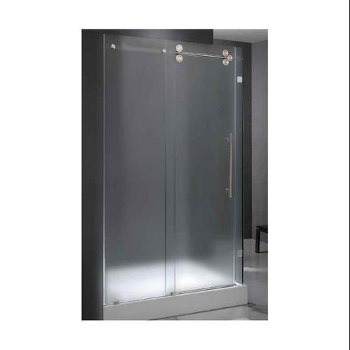 Vigo VG605160 57.75W x 74H in. Frosted Glass Shower Enclosure